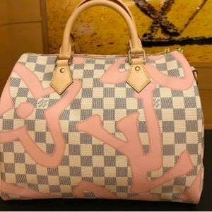 LIMITED EDITION LOUIS VUITTON TAHITIENNES SPEEDY